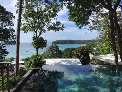 Photo for 1 bed bungalow above Kata beach