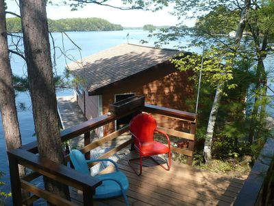 Photo for Muskoka East Bay Beautiful Lake View Southern exposure