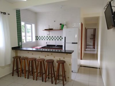 Photo for Apartment with pool and leisure area, 2 bedrooms, furnished, next to Martim de Sá