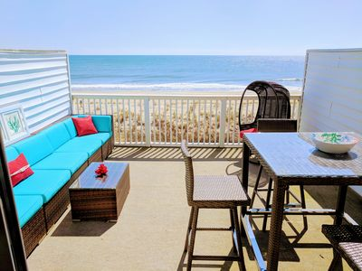 Photo for Beachcrest on 76th - Oceanfront Beachfront Condo