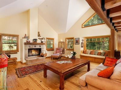 Photo for 2B Loft Riverfront House on 2 Acres with Amazing Views minutes from Aspen