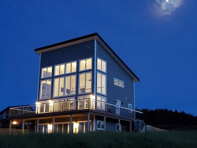 Photo for Spectacular NEW right on the beach!  the Bear Shore Couple's Retreat