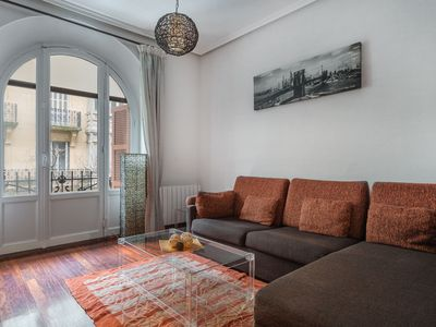 Photo for 1BR Apartment Vacation Rental in SAN SEBASTIÁN