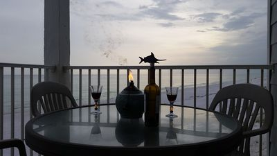Dine outdoors with a beautiful view!