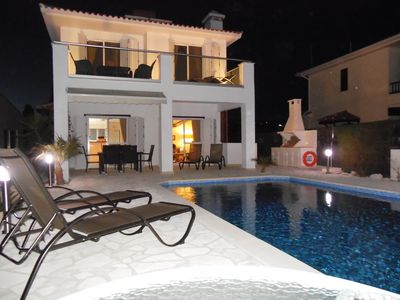 Photo for Luxury Villa with Private Pool in the Village of Pissouri