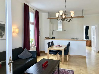 Photo for Villa Kramme - apartment with veranda (2nd floor) - Achterkerke, Villa Kramme