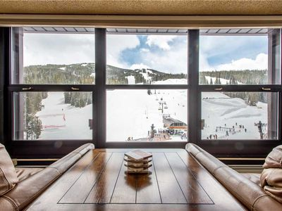 Photo for Burning Stone's best view.  Perfect for Concerts and Skier watching!!!