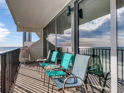 Photo for Gulf front condo w/stunning Gulf views, outdoor pool & beach access!