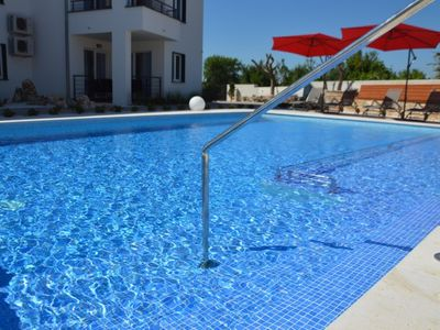 Photo for Apartment in the center of Peroj with Parking, Internet, Air conditioning, Pool (692775)