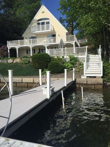 Breathe-taking Waterfront Home on Lake Winnipesaukee,Perfect for extended family