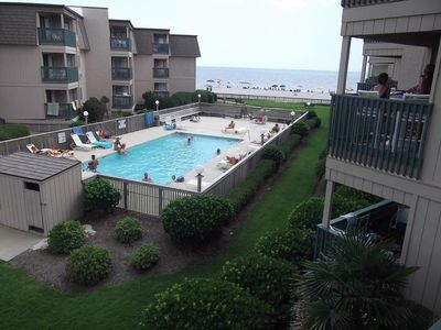 Photo for Peaceful Ocean View!  2 Bed/2 Bath-A Place at the Beach III Unit#B2B