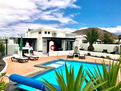 Photo for Holiday home / villa in Montana Roja, Playa Blanca, Lanzarote (dogs welcome)..,