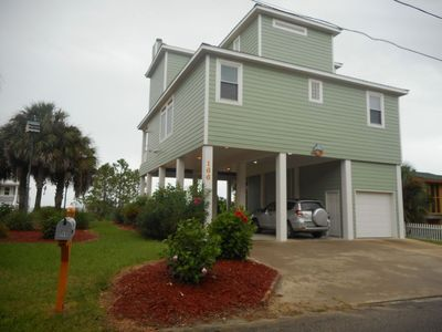 Photo for 3 Bedroom 3 Bath Beach View. Short Walk To The Beach. Like New Home!