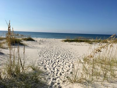 Photo for Beachfront Perdido Key Florida Townhome Rental, Private