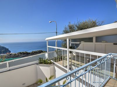 Photo for Appartamento Mirto A: A bright and cheerful apartment which faces the sun and the sea, with Free WI-FI.