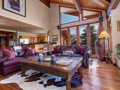 Photo for NEW LISTING! Mountain-view home w/private hot tub & jet master tub-near skiing
