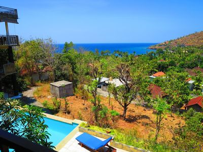 Photo for Secluded and Tranquil Accommodation in Bunutan Village - Family Seaview