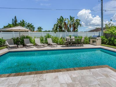 Photo for Beautiful home in Naples Park w/ saltwater pool - near premiere beaches & shops!