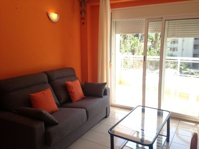 Photo for 1 bedroom apartment with capacity for 4/6 people at 300m from the beach.  Disposi