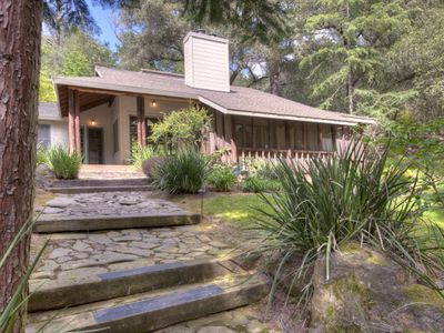 Photo for St. Helena Private & Enchanting on 13 Wooded Acres with Beautiful Walking Trail