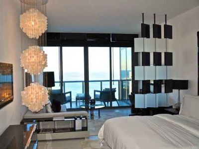 Photo for Studio Condo with Beach Front View! Residence At The W South Beach