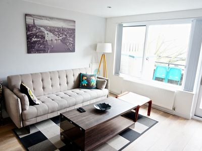 Photo for Modern 2BR Flat in King's Cross, Central London by HAPPYGUEST