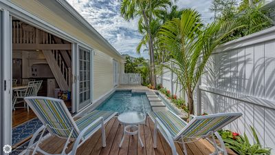 Mango Cottage- 2BR/2BA Family-Friendly Old Town Private Home  with Private Pool