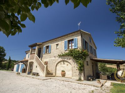 Photo for Villa il Rovereto, ideal place in the silence of pure nature