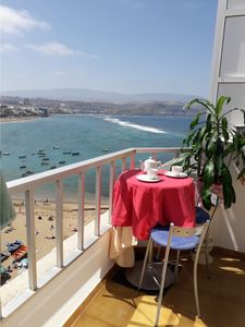 Photo for First line Attic Las Canteras Beach