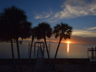Photo for Bring your Dog! Amazing SunSets! Dock,Hot Tub, GameRoom, Private Pool,