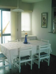 Photo for Apto Tombo Guarujá swimming pool 3dorm 1suite 8 people 120m from the beach. balcony with view