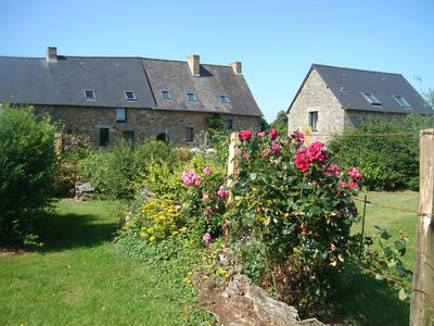 Photo for Large gîte for 12 people, Fougères, Mont St Michel, quiet in the Brittany countryside.