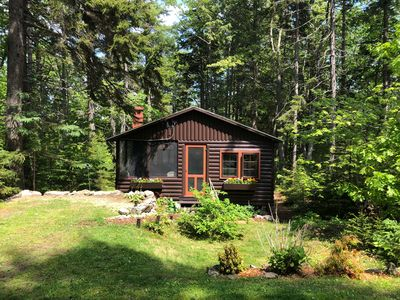Photo for Rustic Chic Cabin in Sprucewold - Walk to Beach & Downtown Boothbay Harbor