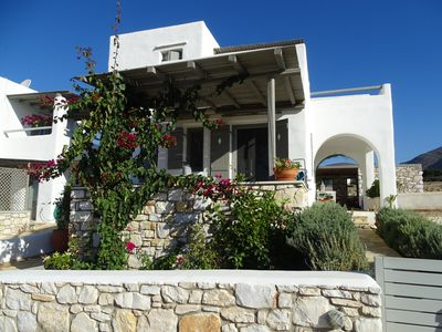 Photo for Rent in Paros studio with large terrace overlooking the sea