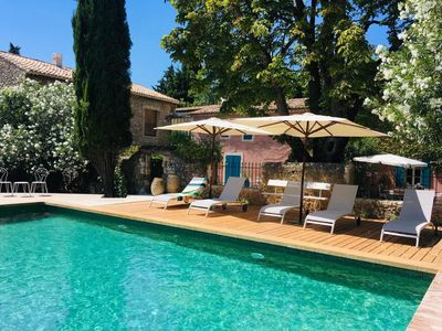 Photo for Charming 18th c. guest house with swimming pool, where calm pace & conviviality