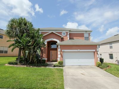 Photo for Emerald Island - Pool Home 7BD/4.5BA - Sleeps 14 - Gold - REI745