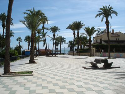 Photo for Two bedroom apartment a short walk to Playa Narejos, tapas bars and supermarkets