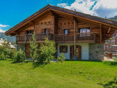 Photo for Vacation home Les Cimes in Nendaz - 10 persons, 5 bedrooms