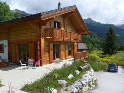 Photo for Crans Montana - Large and modern chalet with stunning views in a quiet setting