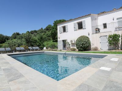 Photo for Charming villa 18 minutes from Calvi