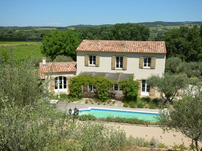 Photo for Luxe Villa in Provence, Mont Ventoux with heated pool, beautiful landscape views