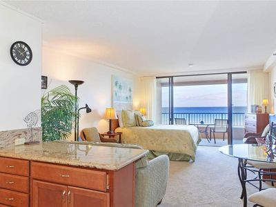 Photo for Oceanfront Junior Suite, Bright and Easy Island Style