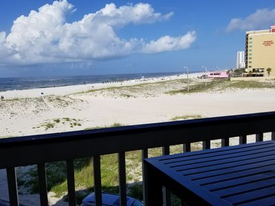 Photo for GORGEOUS UPDATED BEACH SIDE condo. Beautiful views & great location