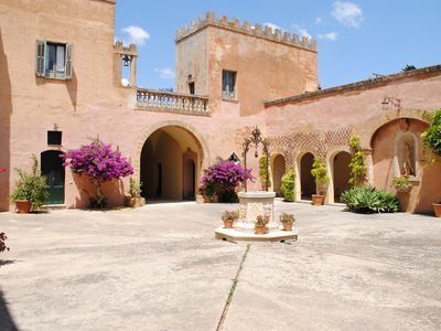 Photo for Romantic  luxury villa with private pool and tennis court near the sea
