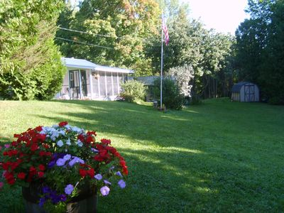 Photo for Two waterfront cottages together sleep 10 and have lots of privacy!