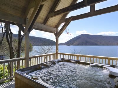 Photo for Our Point Of View, hot-tub, highspeed, dogs allowed, pool table, fireplaces