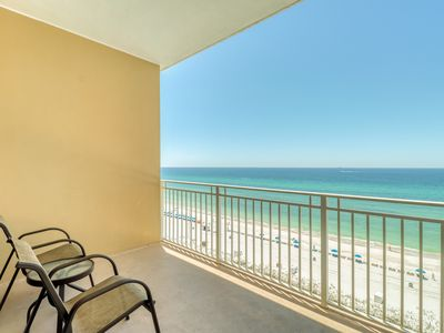 Photo for Condo w/ shared hot tub and community pool, wake up to beach views!