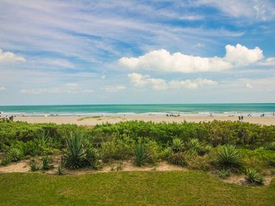 Photo for Direct-Oceanfront 2 Bedroom Condo Located in Downtown Cocoa Beach!