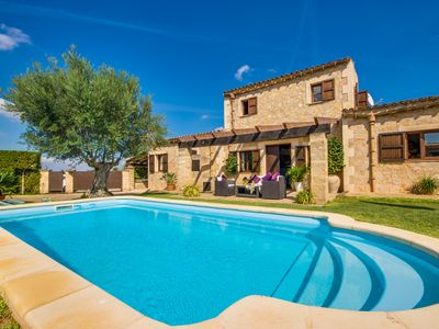 Photo for ☼ Beautiful natural stone cottage with pool in a fantastic location