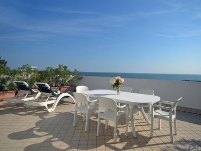 Photo for Holiday apartment Lido delle Nazioni for 5 - 6 persons with 2 bedrooms - Penthouse holiday apartment
